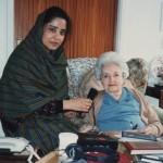 Molly Ellis with safia