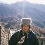 safia on china wall (2)