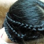 Orbal hair style