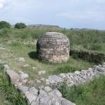 small stupa in taxila